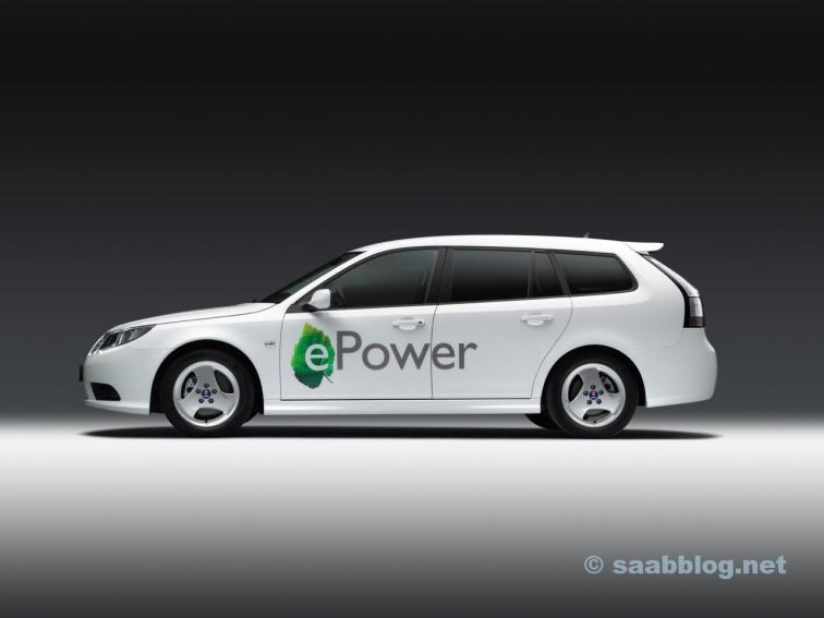 Saab 9-3 e-Power Concept