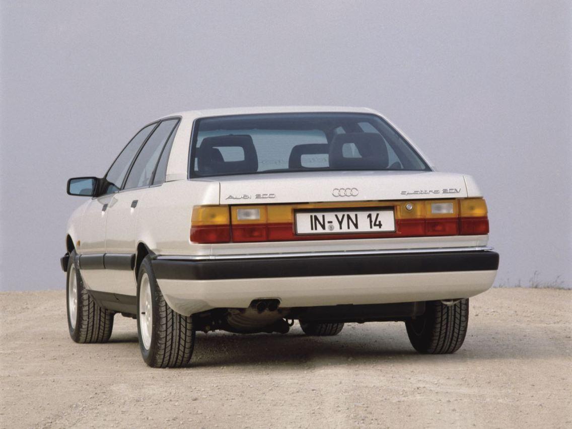 Audi 200. Bild Audi AG