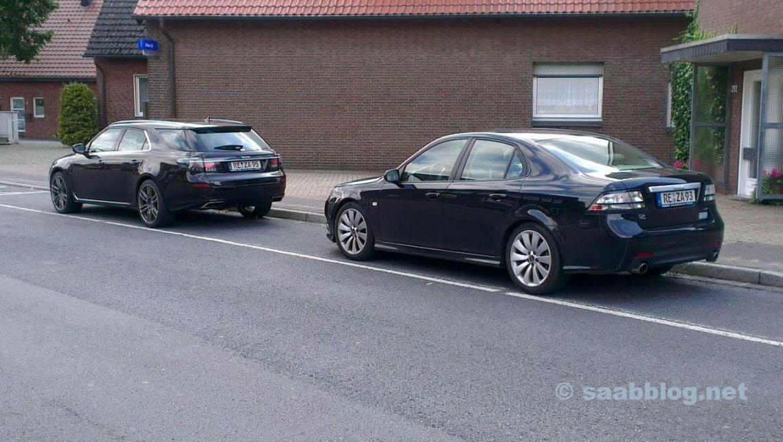 Einzigartig in Deutschland. Saab 9-3 2014 und Saab 9-5 SC 2012.