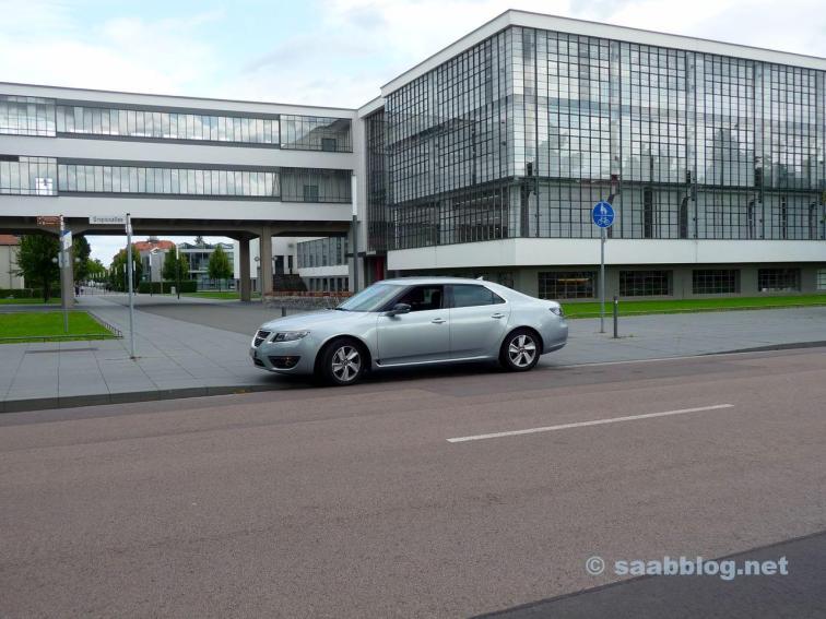 Saab 9-5 NG von Hans. Bauhaus trifft Saab.