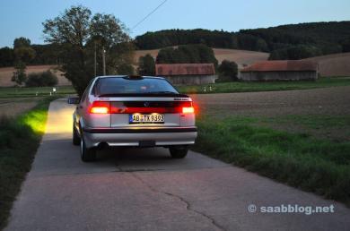 Saab 9000 CSE-jubileum, het Anna-project.