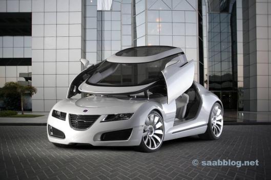 Saab Aero X - coche de ensueño de Trollhattan