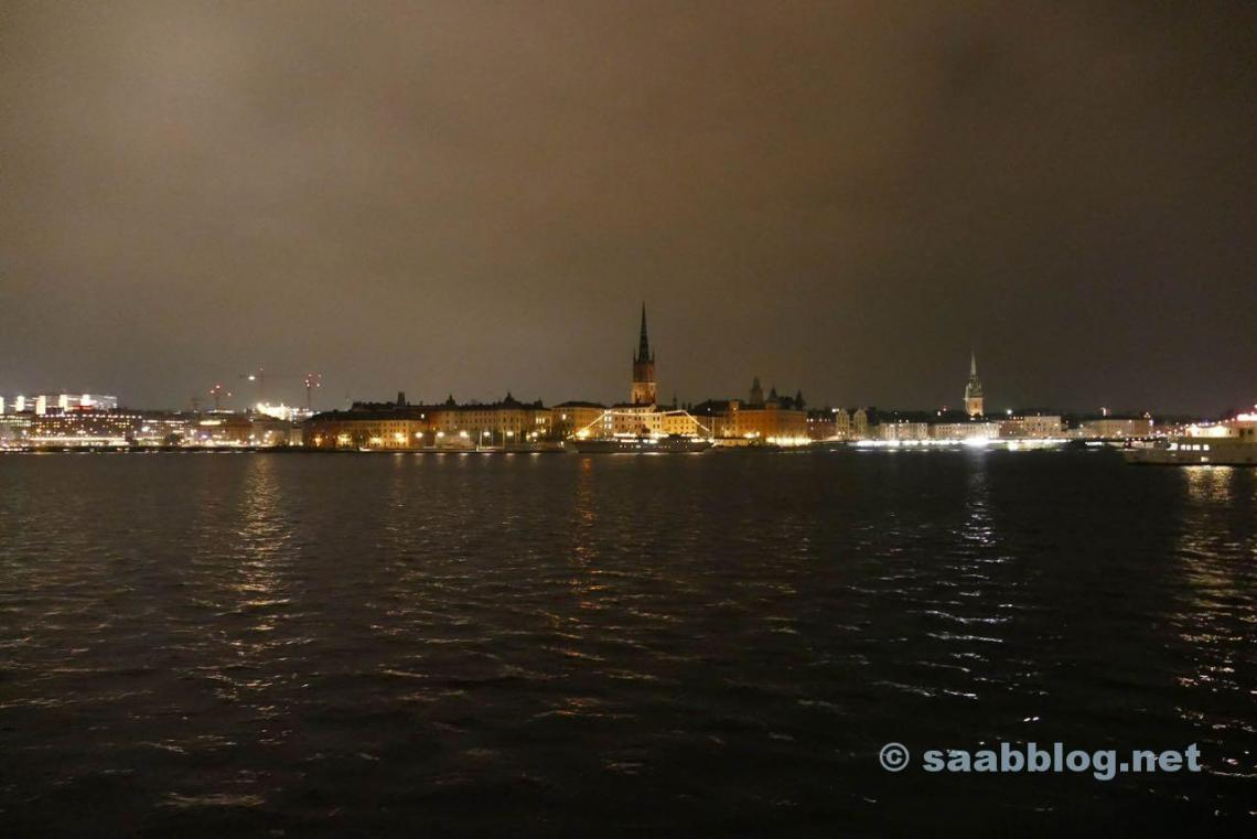 Estocolmo à noite