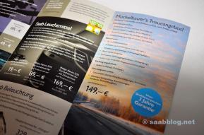 Saab Zentrum Bamberg, предложение лояльности