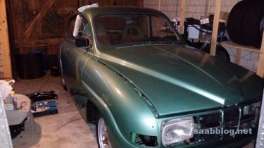 Saab 96 restaurering