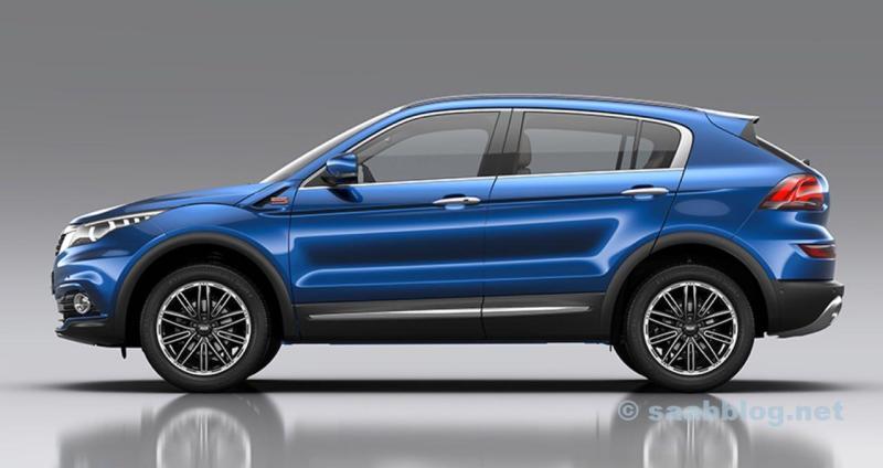 Den nya Qoros 5 SUV