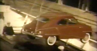 Saab im Hafen von Boston 1957