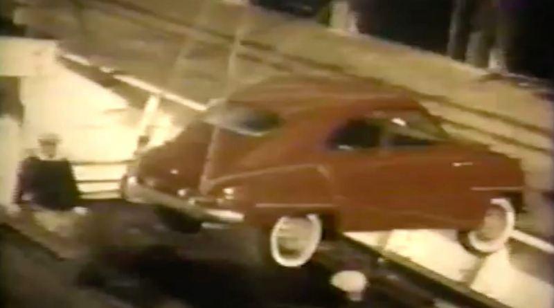 Saab i Boston Harbor 1957