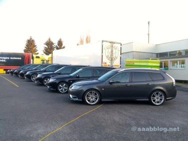 Saab Fieber in der Schweiz