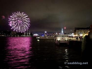 Estocolmo, véspera de Ano Novo.