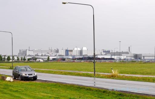 2010. Trollhattan. Saab Werk