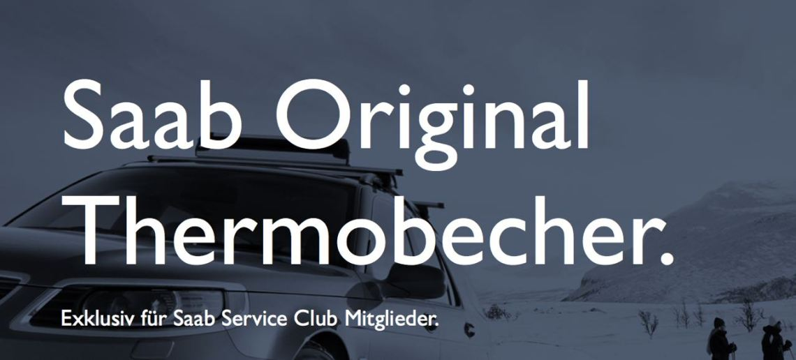 Saab Thermobecher