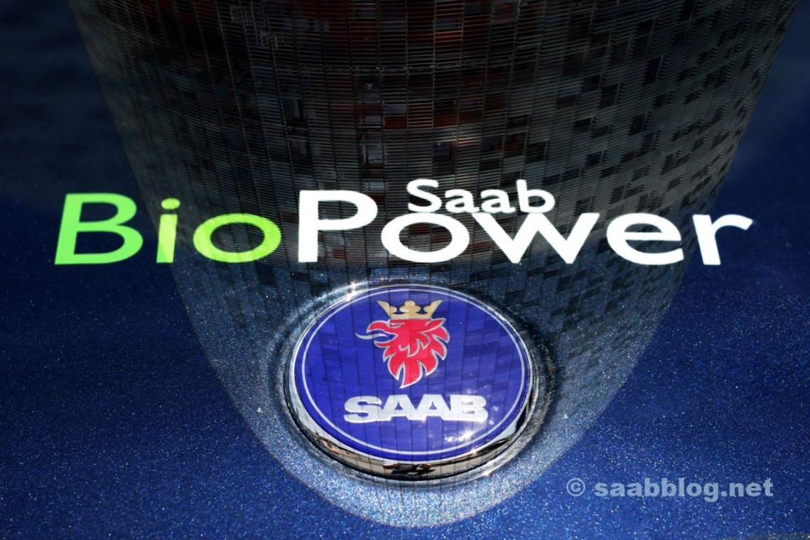 Saab Biopower. operação de álcool?