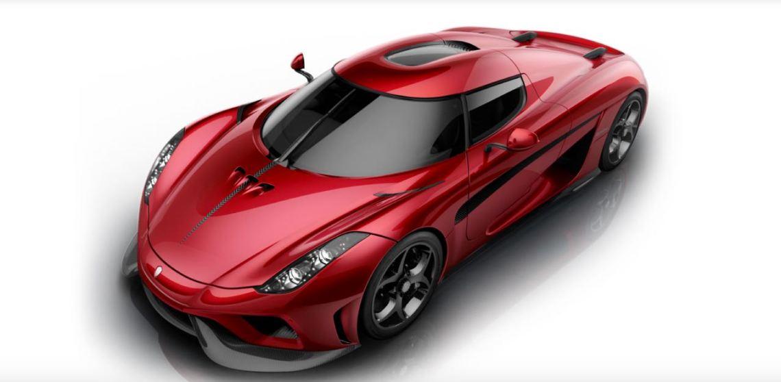 Neuer Regera. Bild: Koenigsegg