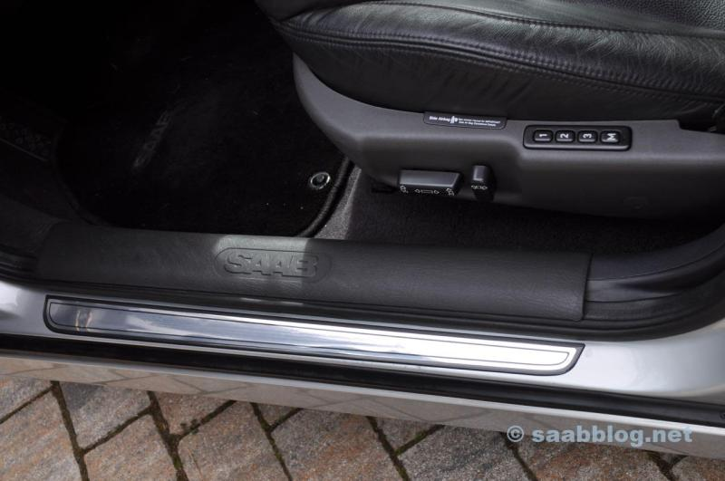 Sill protection - door sills Saab 9-3 Aero 2001