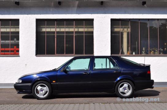 Saab 9000 CSE 2.0t, årsdag 1998