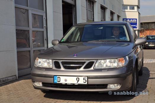 Saab 9-5 2.3t Arc bei Saab Service Frankfurt
