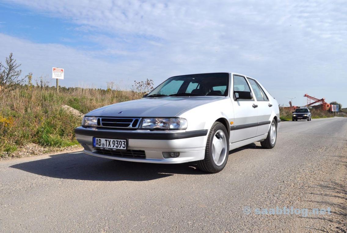 Saab 9000 CSE 2.3t årsdag 1998.
