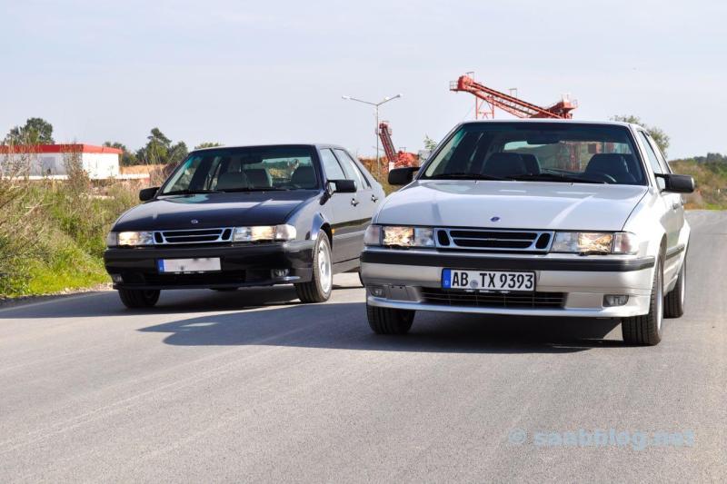 Saab 9000 CSE 2.0t, Anniversary und 9000 CSE 2.3t Anniversary, beide 30.03.1998.