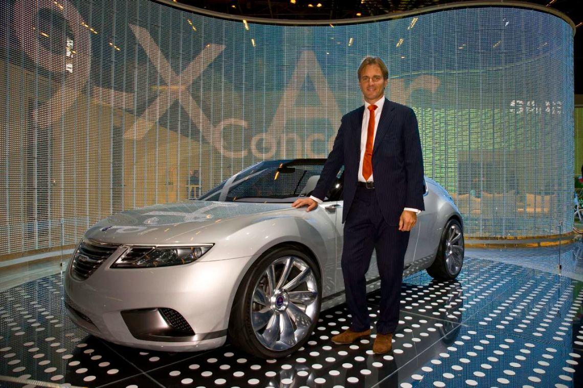 Eric Geers, Director Communication, Saab Automobile AB.