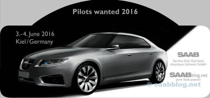 Pilotos queriam 2016 - Placa