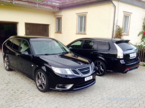 2 x Saab Turbo X
