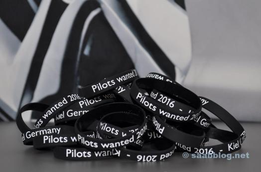 Piloter ville ha 2016. Entréställ för deltagarna