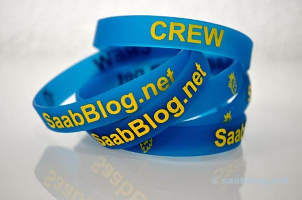 Saabblog.net Crew Armbänder
