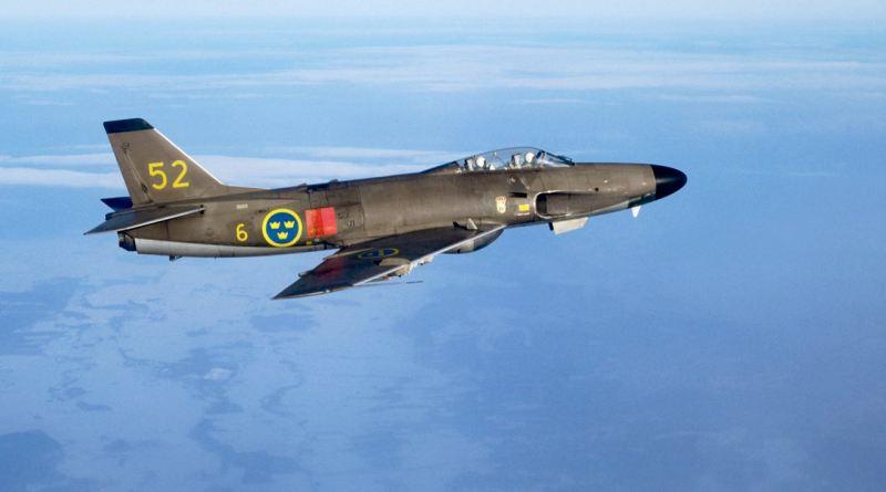 Saab 32 Lansen. Droit d'auteur Saab AB