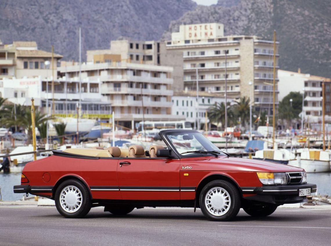Saab 900 Cabriolet. Bild: Saab Automobile AB