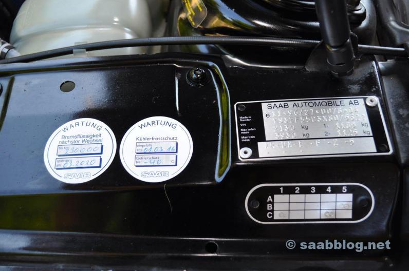Ecco come deve essere. Manutenzione presso il partner Saab.