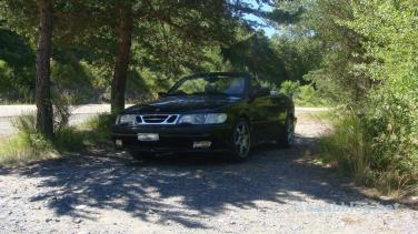 Saab Cabrio. Ein Exote.