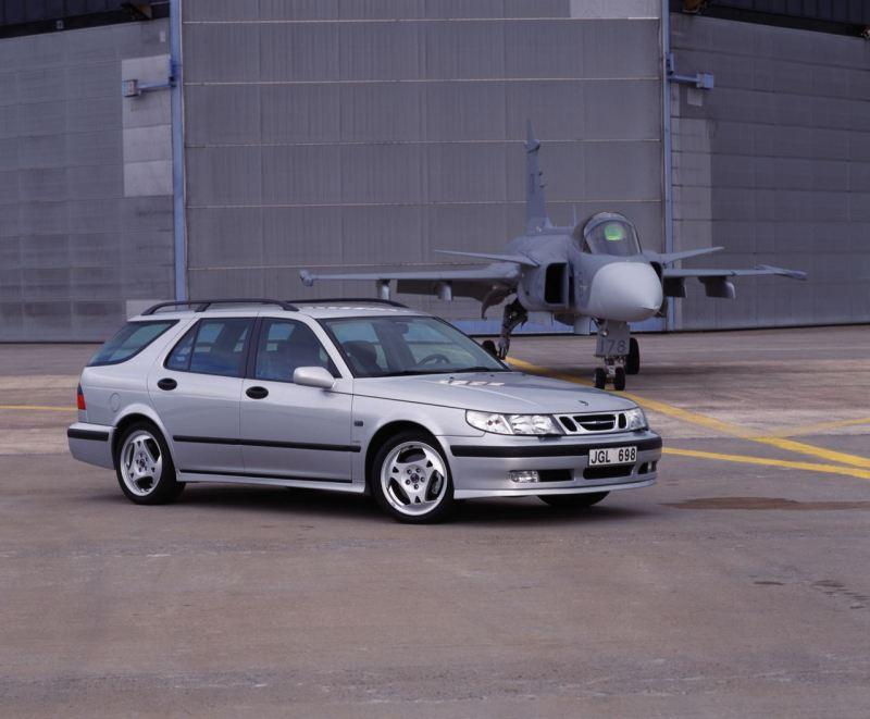 Saab 9-5 Kombi. Bild: Saab Automobile AB
