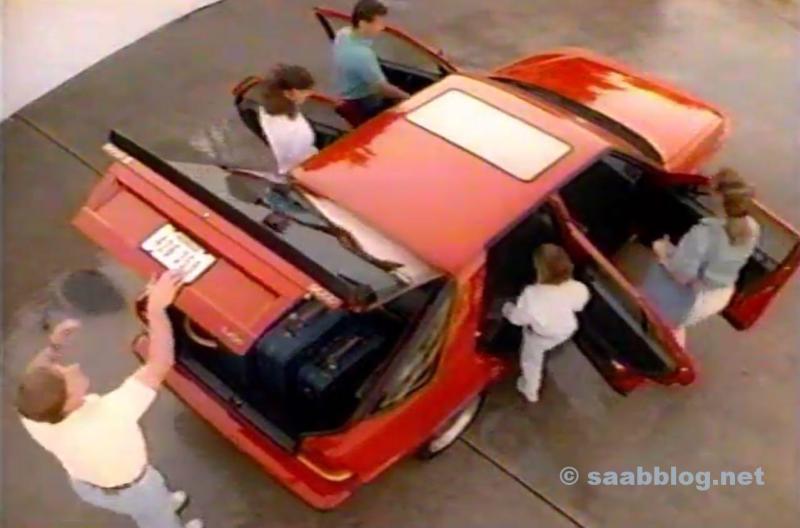 Saab 9000. Saab ist Vielseitigkeit.