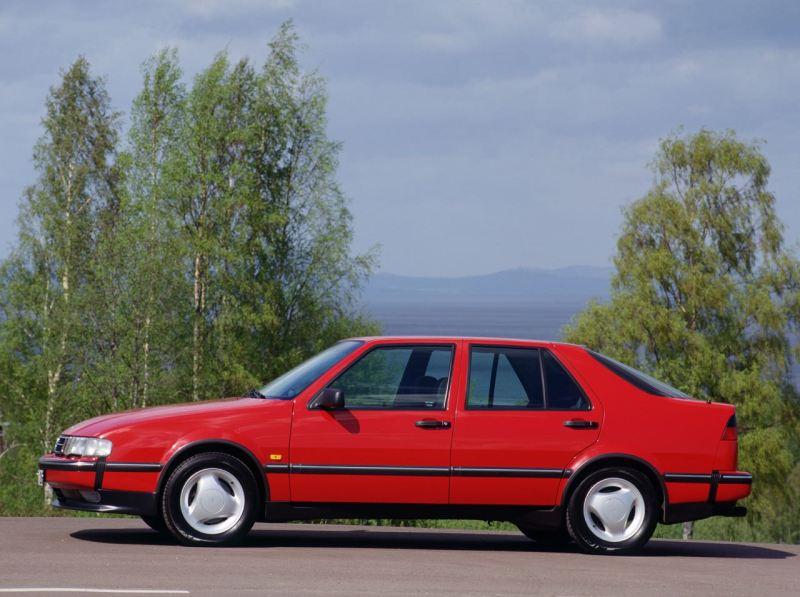 Saab 9000. So ähnlich sah mein allererster Saab aus.