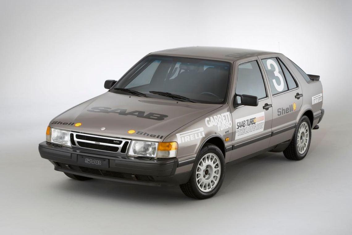 Saab Talladega numéro 3. Image: Saab Automobile AB