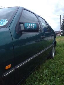 Feinheiten: Saab Logo.