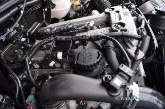 Sembra familiare, giusto? Motore Saab in BJ40