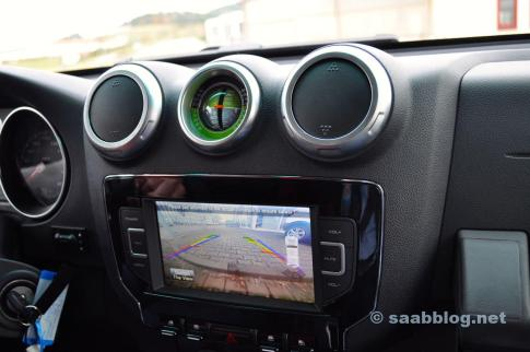 Rear view camera in the BAIC BJ40