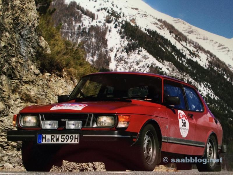 Saab 99 i sjöfartens alper