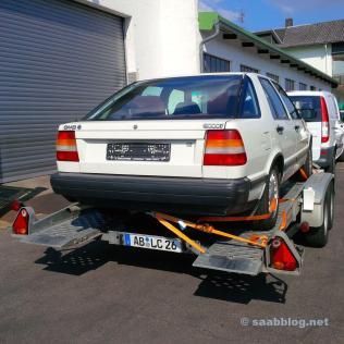 Este 89er 9000 CC deve se tornar o nosso Saab comunitário.