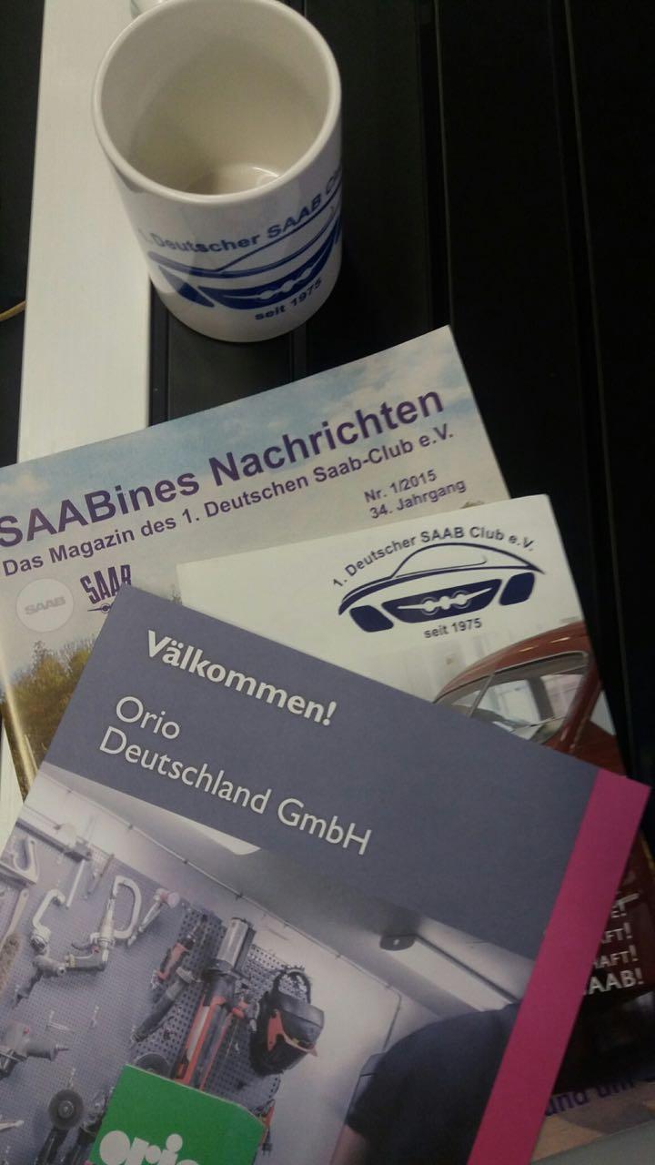 Tudo o que é Saab. Crédito da foto: 1. Alemão Saab Club.