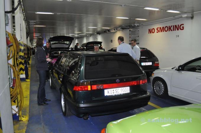 Noch ein Einzelstück. Saab 9000 Kombi der Familie Lafrentz
