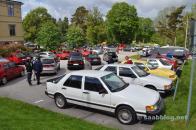 2015. Alles steht im Zeichen des Saab 9000.