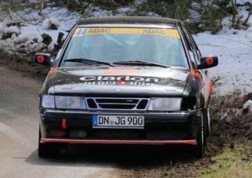 Saab R900 i rallyanvändning. Bild: J. Grobusch