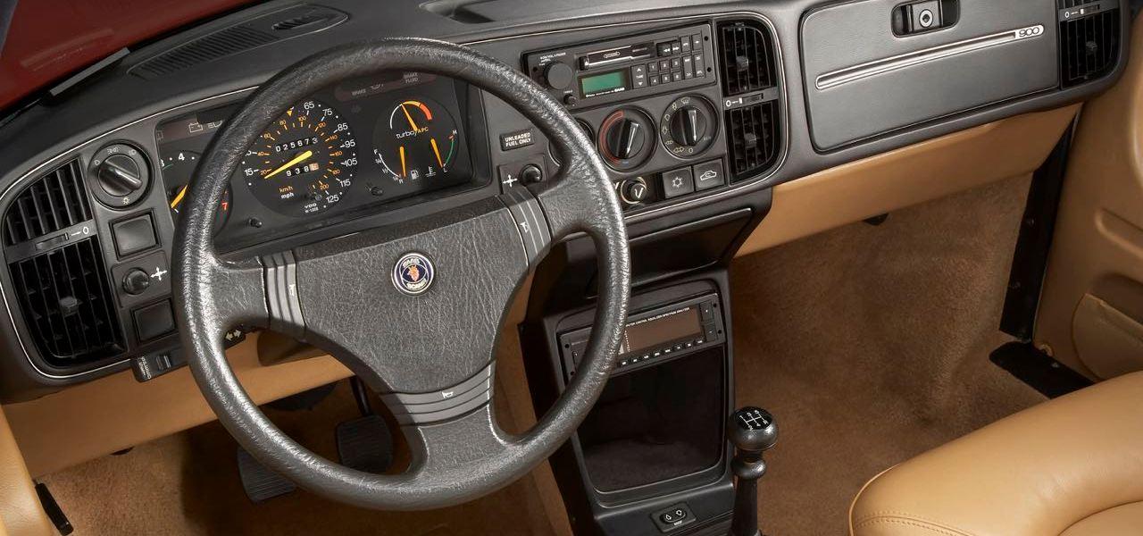 Design. Das Saab Cockpit im Laufe der Zeit