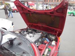 Abnahme Saab 99.