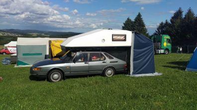 Toppola mit Zelt