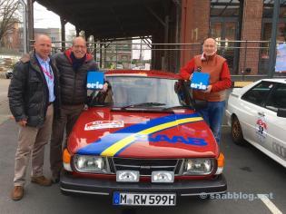 Jan-Philipp Schumacher, Robert e Gerd Wagenheimer.