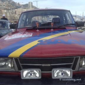 Die Saab Teams sind zufrieden, glücklich...